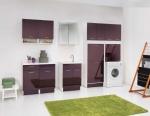 Итальянские постирочные раковины Мебель и оборудование для постирочной комнаты. Гарнитур Melanzana мебель и раковина для постирочной COLAVENE