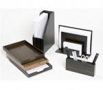 Аксессуары для кабинета Deluxe. Wood Collection деревянные аксессуары для рабочего стола Сет