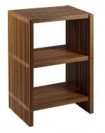 Мебель и Аксессуары для ванной из натурального дерева, Раттана и Бамбука. Ferdinand Nicol напольная этажерка для ванной деревянная с 3-мя полками