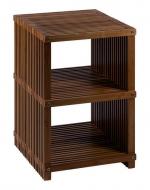 Мебель и Аксессуары для ванной из натурального дерева, Раттана и Бамбука. Finn напольная этажерка для ванной деревянная с 3-мя полками