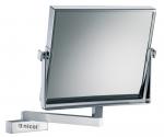 Зеркала косметические с подсветкой увеличением настенные настольные Зеркала с присосками. Frauke Nicol косметическое зеркало для ванной настенное прямоугольное двухстороннее с увеличением 1х1 и 1х3