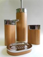 Мебель и Аксессуары для ванной из натурального дерева, Раттана и Бамбука. Toskan аксессуары для ванной настольные деревянные