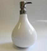 Аксессуары для ванной настольные. IRIS Nicol аксессуары для ванной настольные большой Дозатор фарфоровый белый