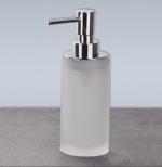 Аксессуары для ванной настольные. Baltic Nicol настольные Аксессуары для ванной стеклянные белые матовые Дозатор