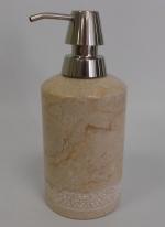 Аксессуары для ванной настольные. Julia Nicol мраморные аксессуары для ванной настольные бежевые дозатор
