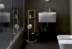 Мебель и Аксессуары для ванной из натурального дерева, Раттана и Бамбука.  Tino Colavene мебель постирочная стойка универсальная деревянная SERVETTO