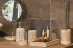 Аксессуары для ванной настольные. Julia Nicol мраморные аксессуары для ванной настольные бежевые