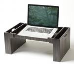 Аксессуары и Мебель для дома. Wood Collection деревянный столик для постели Эбеновое дерево Dark