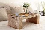 Аксессуары и Мебель для дома. Wood Collection деревянный столик для постели Ясень Tamo Ash