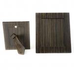 Рамки для фотографий Deluxe. Wood Collection Frame рамка для фотографий деревянная Эбеновое дерево Dark