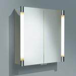 Зеркальные шкафчики Аптечки. Keuco зеркальный шкафчик с подсветкой Royal T2