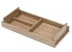 Аксессуары для кабинета Deluxe. Wood Collection Универсальный деревянный лоток Орех