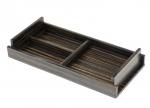 Аксессуары для кабинета Deluxe. Wood Collection Универсальный деревянный лоток Эбеновое дерево