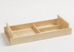 Аксессуары для кабинета Deluxe. Wood Collection Универсальный деревянный лоток Сикамор