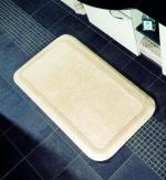 Коврики для ванной комнаты.  Luxor Nicol коврик для ванной двухсторонний хлопковый