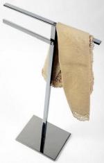 Стойки напольные с бумагодержателем, полотенцедержателем, ёршиком и высокие. Стойка Linea 2020 с полотенцедержателем