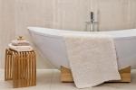 Коврики для ванной комнаты.  Хлопковый коврик для ванной с декором Noya биохлопок Bio-Baumwolle