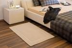 Коврики для ванной комнаты.  Хлопковый коврик для ванной с декором Avani Биохлопок Bio-Baumwolle