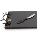 Разделочные доски. Доска для сыра с ножом 47 см «Гранат»