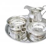 Посуда Столовые приборы Декор стола Deluxe. Набор чайный из 4 предметов