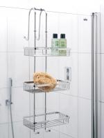 Полки для душа Сетки Полки для ванной стеклянные Полки для полотенец. NERO Nicol полка сетка для душевой кабины тройная с крючками