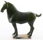 Предметы декора Deluxe. Лошадь керамическая (синяя)