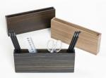 Аксессуары для кабинета Deluxe. Wood Collection деревянные аксессуары для рабочего стола карандашница