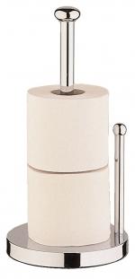 Стойки напольные для туалетной бумаги с полотенцедержателем и ёршиком. STAN Nicol напольный держатель для запасных рулонов бумаги