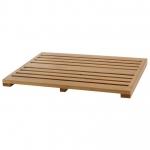 Деревянные коврики и решётки для душа и ванной комнаты. Villeroy&Boch BATH MAT Teak деревянная решётка для душа Тиковая