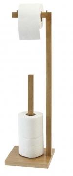Стойки напольные с бумагодержателем, полотенцедержателем, ёршиком и высокие. Стойка напольная с бумагодержателем для запасных рулонов деревянная Дуб Villeroy&Boch