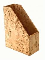 Аксессуары для кабинета Deluxe. Wood Collection аксессуары для рабочего стола накопитель для бумаг Берёза карельская