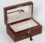 Аксессуары и Мебель для дома. Wood Collection бокс для украшений деревянный Розовое дерево Сантос