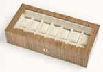 Аксессуары и Мебель для дома. Wood Collection бокс для часов и украшений деревянный Орех