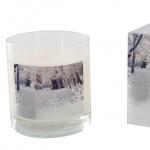 Новый Год. Ароматическая свеча Первый снег
