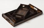 Аксессуары и Мебель для дома. Wood Collection лоток поднос деревянный Зирикоте