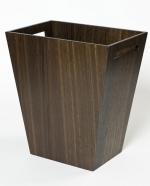Вёдра с педалью Дровницы Вёдра. Wood Collection ведро деревянное Дуб тёмный большое