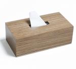 Аксессуары для кабинета Deluxe. Wood Collection салфетница деревянная Ореховое дерево