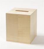 Аксессуары для кабинета Deluxe. Wood Collection салфетница деревянная куб Сикамор