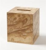 Аксессуары для кабинета Deluxe. Wood Collection салфетница деревянная куб Ясень