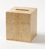 Аксессуары для кабинета Deluxe. Wood Collection салфетница деревянная куб Карельская берёза
