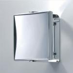 Зеркала косметические с подсветкой увеличением настенные настольные Зеркала с присосками. Квадратное зеркало косметическое с увеличением 1х1, 1х7 и 1х5 двухстороннее