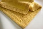 Коврики для ванной комнаты.  Arizona Nicol коврик для ванной хлопковый двухсторонний Золотой