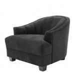 Кресла. Eichholtz Chair Polaris кресло чёрное