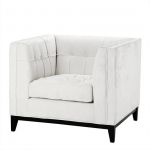 Кресла. Eichholtz Chair Aldgate кресло молочного цвета