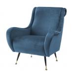Кресла. Eichholtz Chair Giardino кресло синее