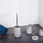 Аксессуары для ванной настольные. EYKE Nicol Аксессуары для ванной бетонные