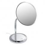 Зеркала косметические с подсветкой увеличением настенные настольные Зеркала с присосками. Keuco Elegance зеркало косметическое с гибкой ножкой LED подсветка настольное с проводом