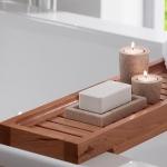 Полки для душа Сетки Полки для ванной стеклянные Полки для полотенец. Полка для ванны Деревянная Тиковая Villeroy&Boch