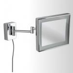 Зеркала косметические с подсветкой увеличением настенные настольные Зеркала с присосками. Alex Nicol косметическое зеркало с подсветкой LED настенное прямоугольное с увеличением 1х3