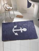 Коврики для ванной комнаты. ANCHOR Nicol Коврик для ванной Якорь